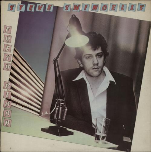 Steve Swindells Fresh Blood vinyl LP album (LP record) UK SVWLPFR341898