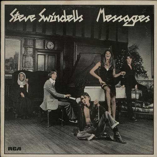 Steve Swindells Messages vinyl LP album (LP record) UK SVWLPME140300