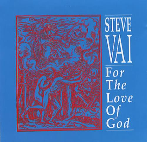 "Steve Vai For The Love Of God CD single (CD5 / 5"") US VAIC5FO351910"