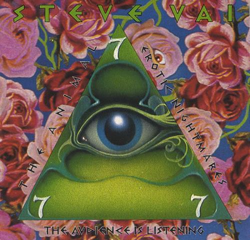 "Steve Vai The Audience Is Listening CD single (CD5 / 5"") US VAIC5TH411442"