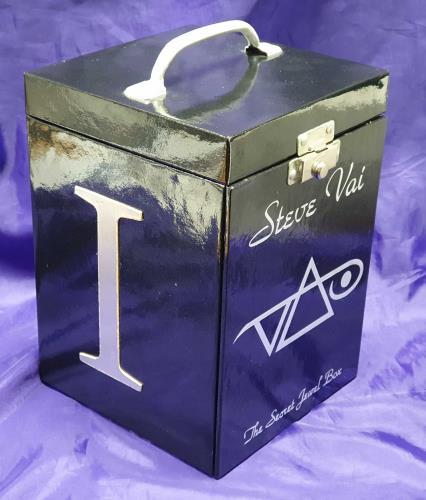 Steve Vai The Secret Jewel Box CD Album Box Set US VAIDXTH740593
