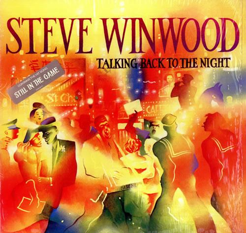Steve Winwood Talking Back To The Night - Sealed vinyl LP album (LP record) US WWDLPTA443429