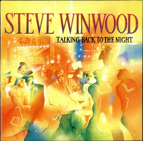 Steve Winwood Talking Back To The Night vinyl LP album (LP record) German WWDLPTA499153
