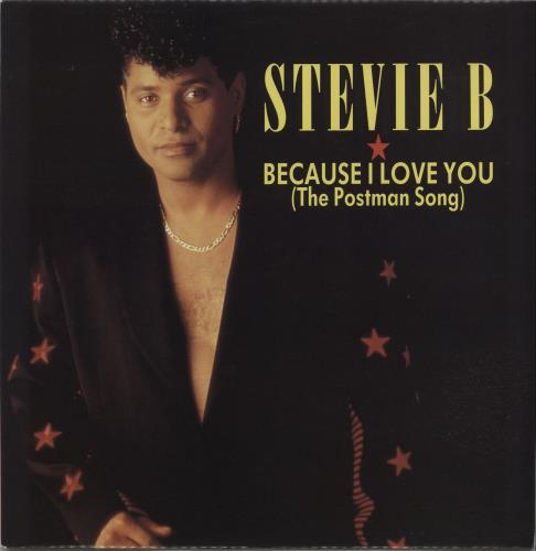 """Stevie B Because I Love You (The Postman Song) 12"""" vinyl single (12 inch record / Maxi-single) UK ST812BE658710"""