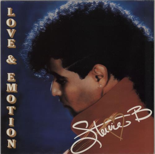 Stevie B Love & Emotion - Sealed vinyl LP album (LP record) UK ST8LPLO574229