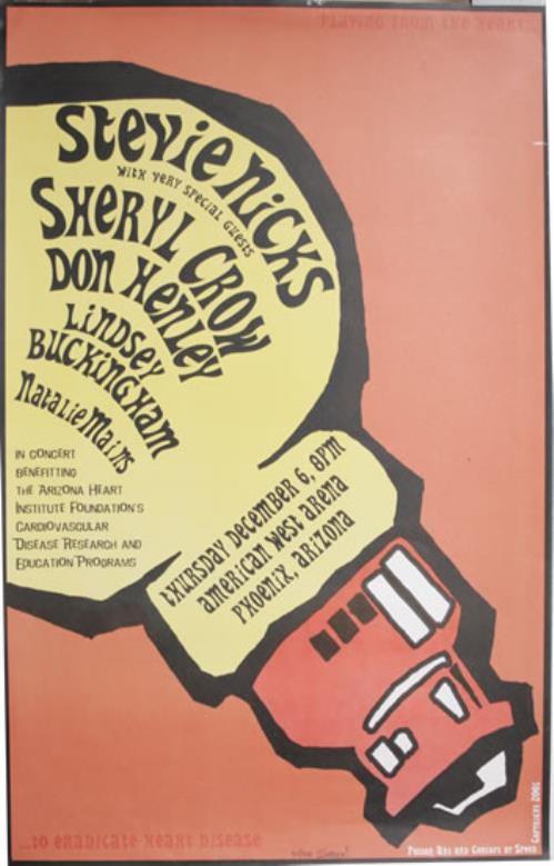 Stevie Nicks 2001 Concert Poster poster US NICPOCO556212