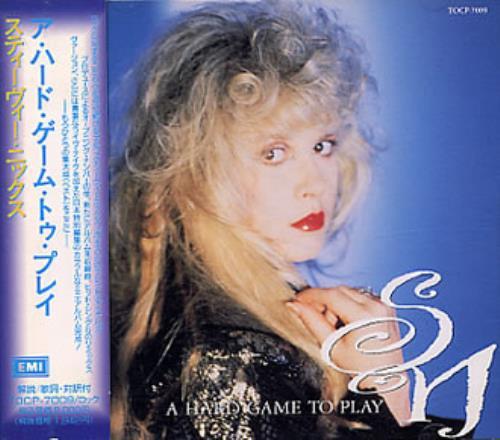 "Stevie Nicks A Hard Game To Play CD single (CD5 / 5"") Japanese NICC5AH03938"