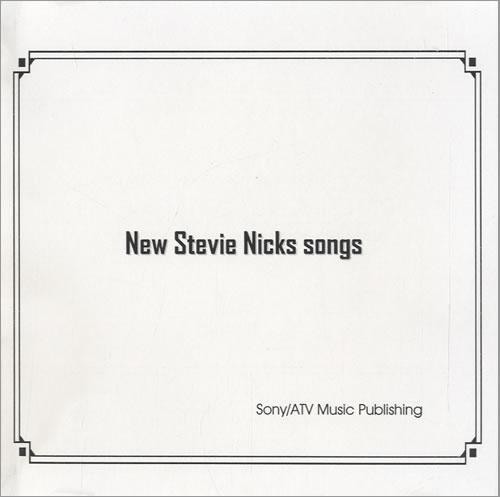 Stevie Nicks New Stevie Nicks Songs CD-R acetate US NICCRNE308404