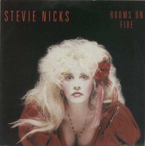 """Stevie Nicks Rooms On Fire - Injection 7"""" vinyl single (7 inch record) UK NIC07RO110521"""