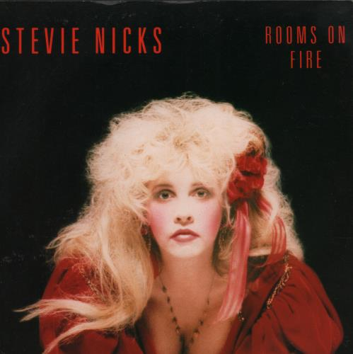"""Stevie Nicks Rooms On Fire - Solid 7"""" vinyl single (7 inch record) UK NIC07RO666647"""