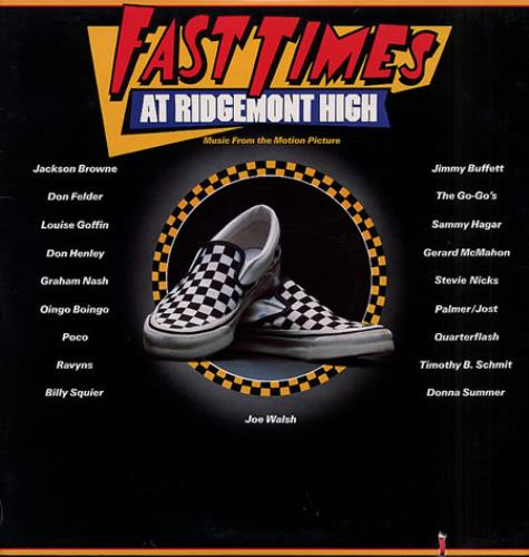 Stevie Nicks Sleeping Angel - on Fast Times At Ridgemont High soundtrack 2-LP vinyl record set (Double Album) US NIC2LSL333364