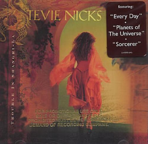 Stevie Nicks Trouble In Shangri-la -  Stamped Sleeve CD album (CDLP) US NICCDTR187050