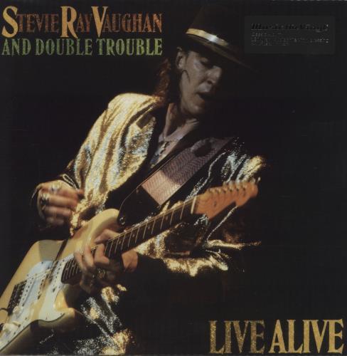 Stevie Ray Vaughan Live Alive - 180gm 2-LP vinyl record set (Double Album) UK SRV2LLI760937