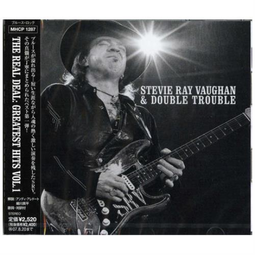Stevie Ray Vaughan The Real Deal Greatest Hits Vol 1