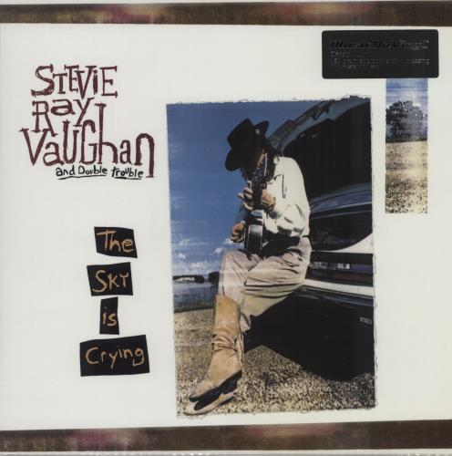 Stevie Ray Vaughan The Sky Is Crying - 180gm vinyl LP album (LP record) UK SRVLPTH760934