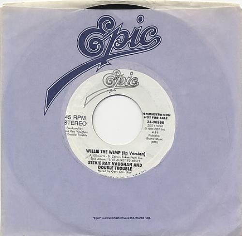 Stevie ray vaughan singles