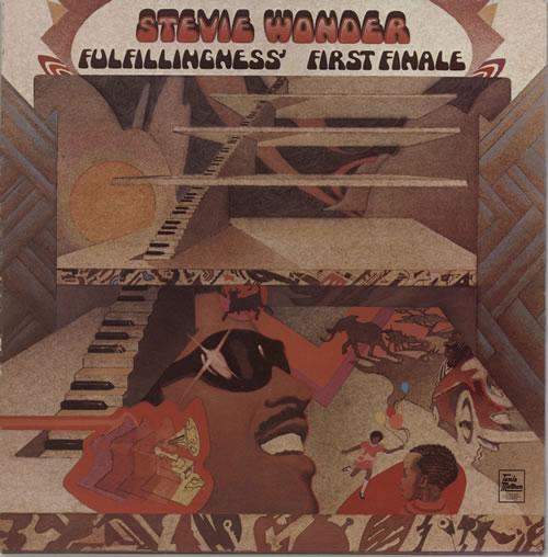 Stevie Wonder Fulfillingness' First Finale - 1st vinyl LP album (LP record) UK STWLPFU285466