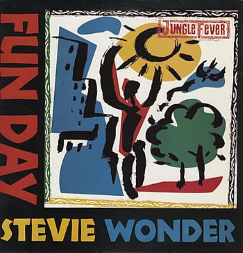 "Stevie Wonder Fun Day 12"" vinyl single (12 inch record / Maxi-single) Australian STW12FU314566"