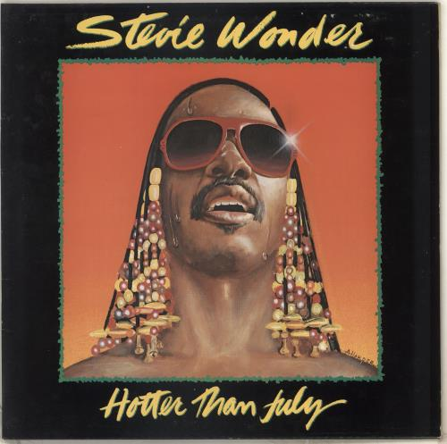Stevie Wonder Hotter Than July Uk Vinyl Lp Album Lp