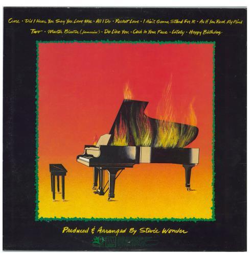 Stevie Wonder Hotter Than July vinyl LP album (LP record) Italian STWLPHO770134