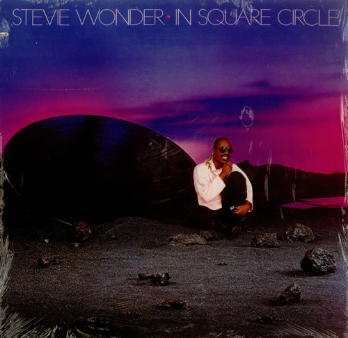 Stevie Wonder In Square Circle Sealed Us Vinyl Lp Album