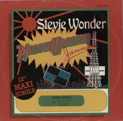 "Stevie Wonder Master Blaster 12"" vinyl single (12 inch record / Maxi-single) German STW12MA601372"
