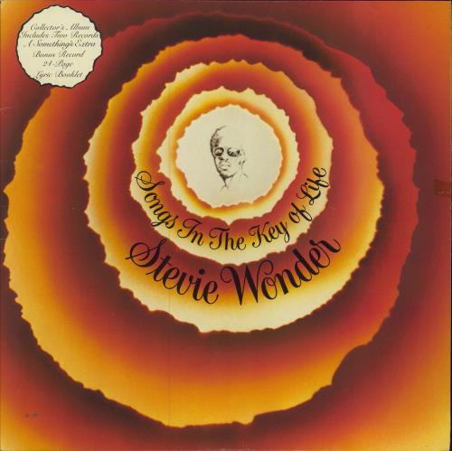 Stevie Wonder Songs In The Key Of Life - Complete - EX 2-LP vinyl record set (Double Album) UK STW2LSO249576