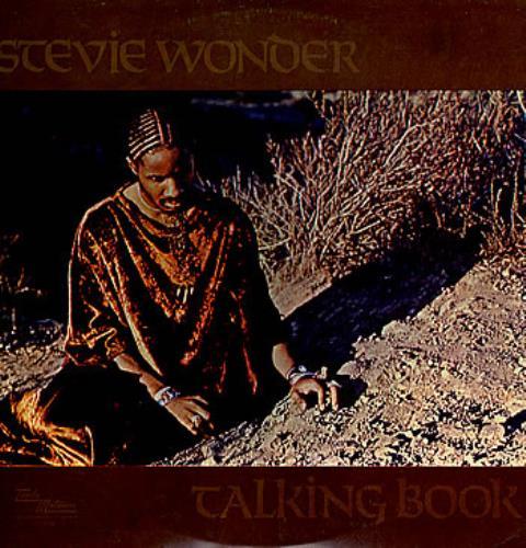 Stevie Wonder Talking Book vinyl LP album (LP record) Israeli STWLPTA285462