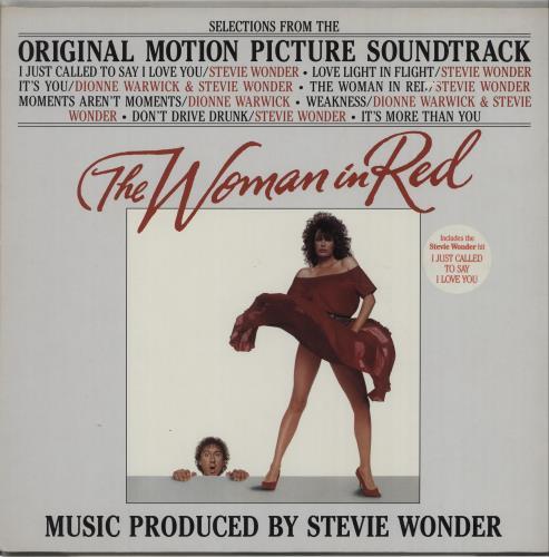 Stevie Wonder The Woman In Red vinyl LP album (LP record) German STWLPTH285461