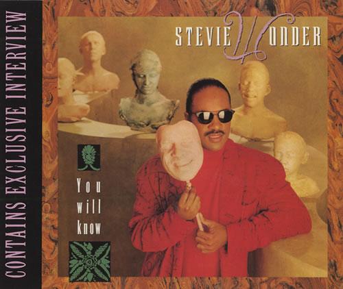 "Stevie Wonder You Will Know CD single (CD5 / 5"") UK STWC5YO41906"