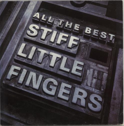 Stiff Little Fingers All The Best - EX 2-LP vinyl record set (Double Album) UK SFI2LAL586632