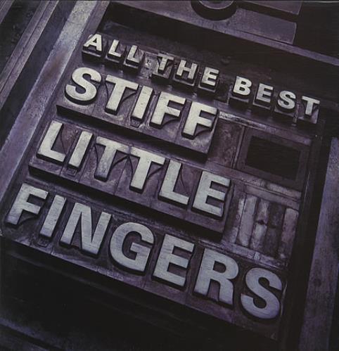 Stiff Little Fingers All The Best 2-LP vinyl record set (Double Album) UK SFI2LAL339878