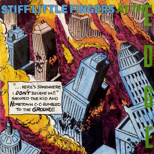 "Stiff Little Fingers At The Edge 7"" vinyl single (7 inch record) UK SFI07AT242295"
