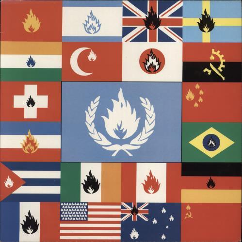 Stiff Little Fingers Flags & Emblems vinyl LP album (LP record) UK SFILPFL768525