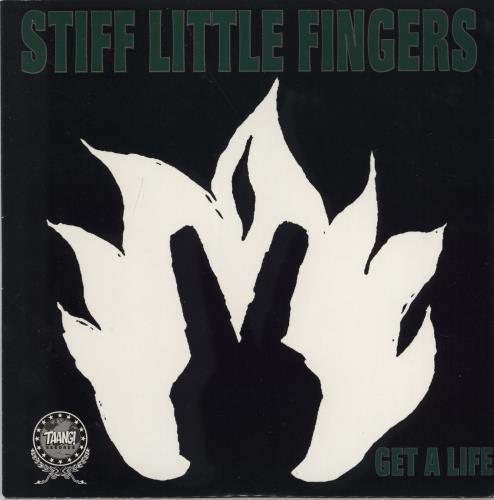 "Stiff Little Fingers Get A Life - Green Marbled Vinyl 7"" vinyl single (7 inch record) US SFI07GE484599"