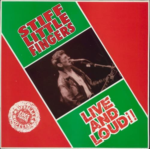 Stiff Little Fingers Live And Loud!! - 3rd 2-LP vinyl record set (Double Album) UK SFI2LLI768055