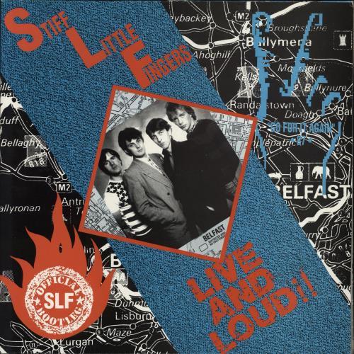 Stiff Little Fingers Live And Loud!! 2-LP vinyl record set (Double Album) UK SFI2LLI343121