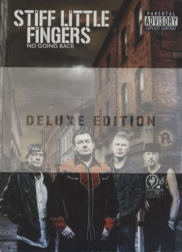 Stiff Little Fingers No Going Back - Deluxe Edition 2 CD album set (Double CD) UK SFI2CNO751673