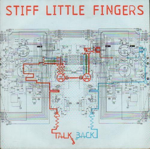 """Stiff Little Fingers Talkback 7"""" vinyl single (7 inch record) UK SFI07TA294270"""