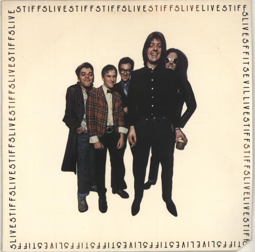 Stiff Live Stiffs Us Vinyl Lp Album Lp Record 379753