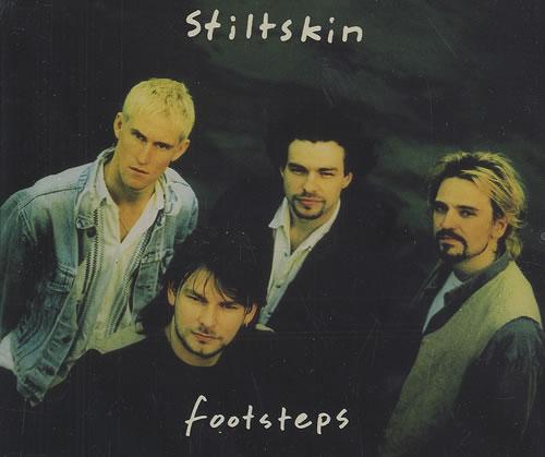"""Stiltskin Footsteps CD single (CD5 / 5"""") UK ILTC5FO276522"""