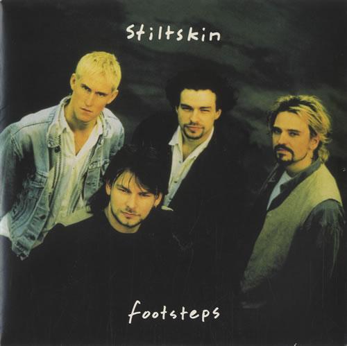 "Stiltskin Footsteps 7"" vinyl single (7 inch record) UK ILT07FO518345"