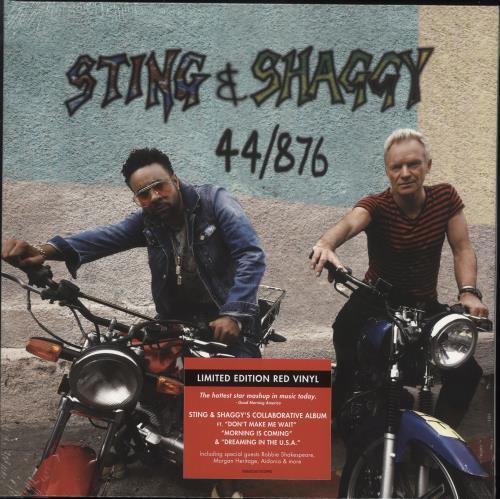Sting 44/876 - Red Vinyl - Sealed vinyl LP album (LP record) UK STILPRE736233
