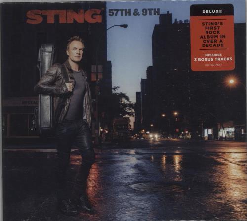 Sting 57th & 9th CD album (CDLP) UK STICDTH673474