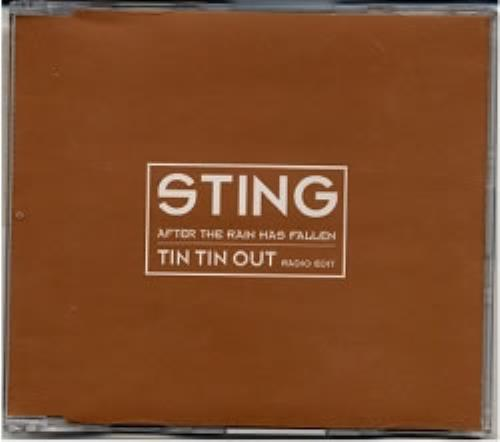 Sting After The Rain Has Fallen - Tin Tin Out CD-R acetate UK STICRAF154641
