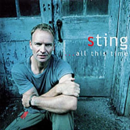 Sting All This Time CD album (CDLP) UK STICDAL201728