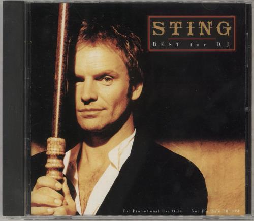 Sting Best For D.J CD album (CDLP) Japanese STICDBE85814