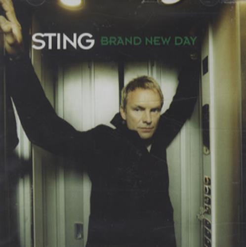 Sting Brand New Day CD album (CDLP) UK STICDBR159621