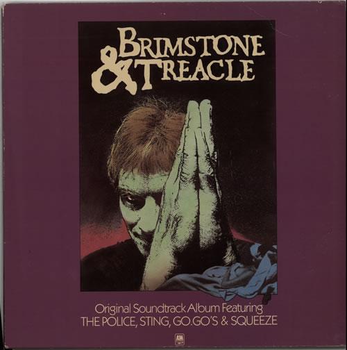 Sting Brimstone & Treacle vinyl LP album (LP record) UK STILPBR586203