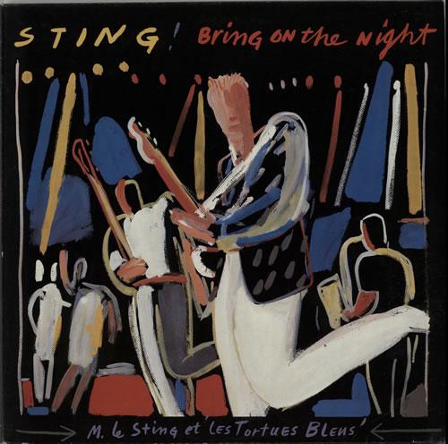 Sting Bring On The Night - EX 2-LP vinyl record set (Double Album) UK STI2LBR302522